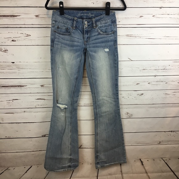 American Eagle Outfitters Denim - American Eagle Artist Distressed Jeans
